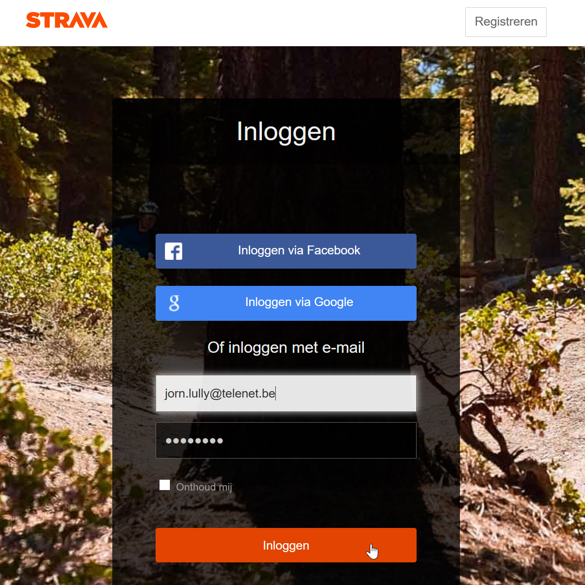 how to get from garmin connect website to strava